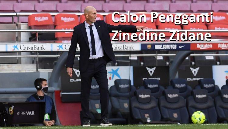 Calon Pengganti Zinedine Zidane